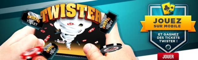 Promotion Twister Ipad sur Everest Poker